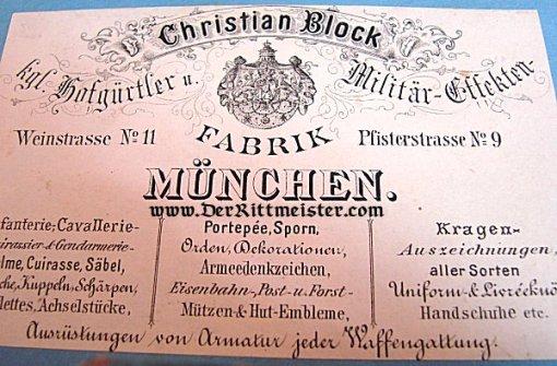 BAVARIA - EPAULETES - MAJOR - PRINZ ALFONS - 1. SCHWERES-REITER-REGIMENT - Imperial German Military Antiques Sale