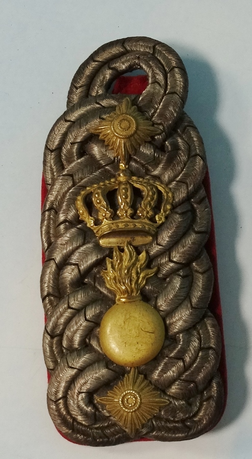 BADEN - SHOULDER BOARD - OBERST'S - FELD-ARTILLERIE-REGIMENT - Imperial German Military Antiques Sale