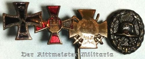 GERMANY - STICKPIN - FOUR-PLACE - Imperial German Military Antiques Sale