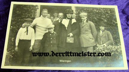 POST WW I POSTCARD - KRONPRINZ WILHELM - FAMILY - Imperial German Military Antiques Sale