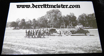 LARGE-FORMAT PHOTOGRAPH - GROUND CREW - OBSERVATION BALLOON - Imperial German Military Antiques Sale