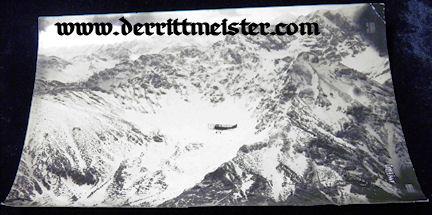 LARGE-FORMAT ORIGINAL PHOTOGRAPH - OBSERVATION AIRPLANE - ALOFT - Imperial German Military Antiques Sale