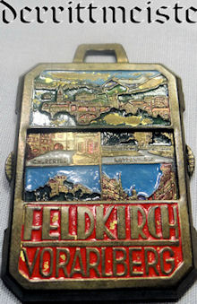 GERMANY - BADGE  - FELDKIRCH VORARLBERG - Imperial German Military Antiques Sale