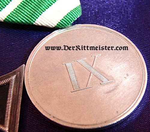SAXONY - FRACK BAR - THREE PLACE - Imperial German Military Antiques Sale