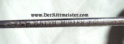 SAXONY - SWORD - NCO - GARDE-REITER-REGIMENT - Imperial German Military Antiques Sale
