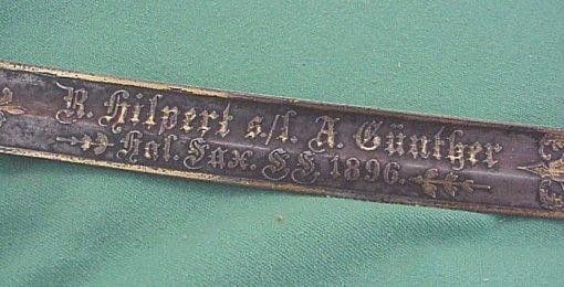 PRUSSIA - SWORD - PRESENTATION - ARTILLERY - LIONSHEAD - Imperial German Military Antiques Sale