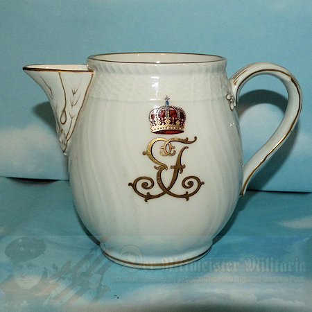 PRUSSIA - COFFEE/TEA CREAMER - PERSONAL TABLE SERVICE - PRINZ EITEL FRIEDRICH