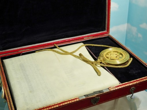 DELUXE FELDMARSCHALLLIEUTENANT PROMOTION PATENT FOR AUSTRIA'S ERZHERZOG FRANZ CARL WITH SPECIAL FITTED PRESENTATION CASE - Imperial German Military Antiques Sale