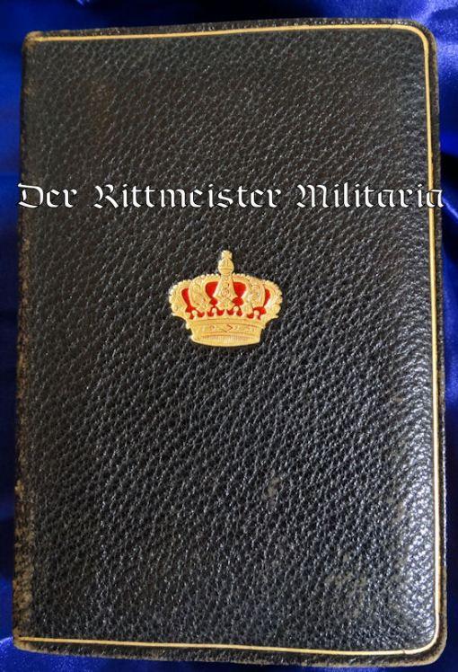 WÜRTTEMBERG'S KÖNIG WILHELM II'S PERSONAL BIBLE - Imperial German Military Antiques Sale