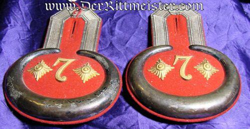 PRUSSIA - EPAULETTES - HAUPTMANN - PIONIER-Bataillon Nr 7 - ORIGINAL STORAGE CASE - Imperial German Military Antiques Sale