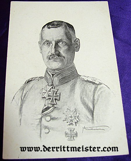 POSTCARD - KRONPRINZ RUPPRECHT - BAVARIA - Imperial German Military Antiques Sale