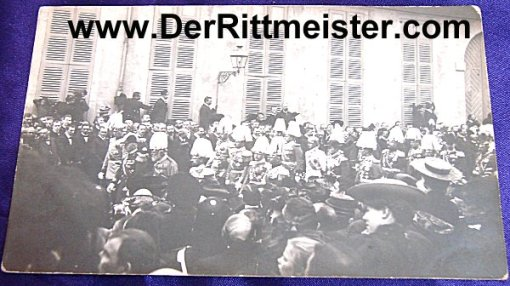 POSTCARD - FUNERAL PROCESSION - PRINZ LUITPOLD - BAVARIA - Imperial German Military Antiques Sale