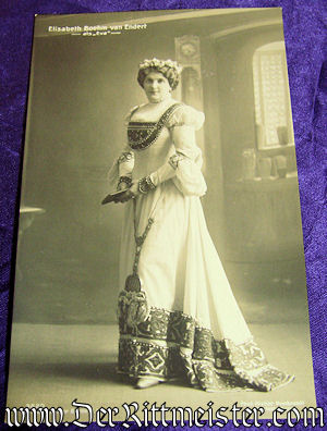 POSTCARD - ELISABETH BÖHM VAN ENDERT - Imperial German Military Antiques Sale