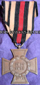 HINDENBURG CROSS - NON COMBATANT'S - Imperial German Military Antiques Sale