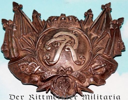 PRUSSIA - ENLISTED MAN / NCO -  KÜRAß EMBLEM - REGIMENT der GARDE du CORPS - Imperial German Military Antiques Sale