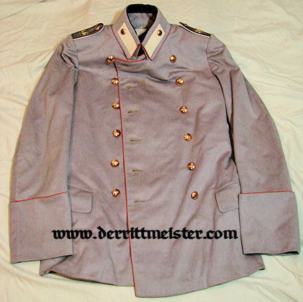 PRUSSIA - LITEWKA & TROUSERS - IDENTIFIED OFFICER - HELLGRAU - REGIMENT Nr 76 - Imperial German Military Antiques Sale