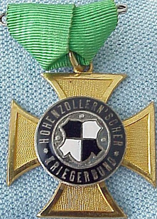 PRUSSIA - PIN - VETERANS - HOHENZOLLERN - Imperial German Military Antiques Sale