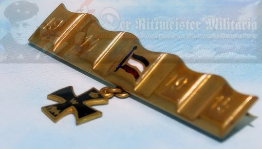 GERMANY - PATRIOTIC PIN - DRIVING BAND - Imperial German Military Antiques Sale