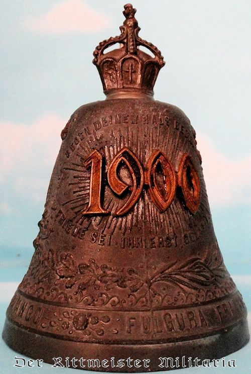 GERMANY - BELL - CELEBRATING GERMAN UNITY IN NEW (20TH) CENTURY - Imperial German Military Antiques Sale
