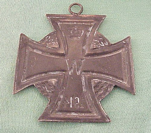 GERMANY - IRON CROSS - 1914 - WALL ART - Imperial German Military Antiques Sale