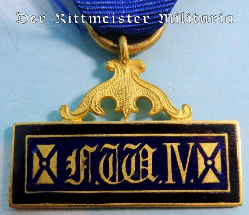 LANDWEHR LONG-SERVICE AWARD FOR UNTEROFFIZIERE - Imperial German Military Antiques Sale