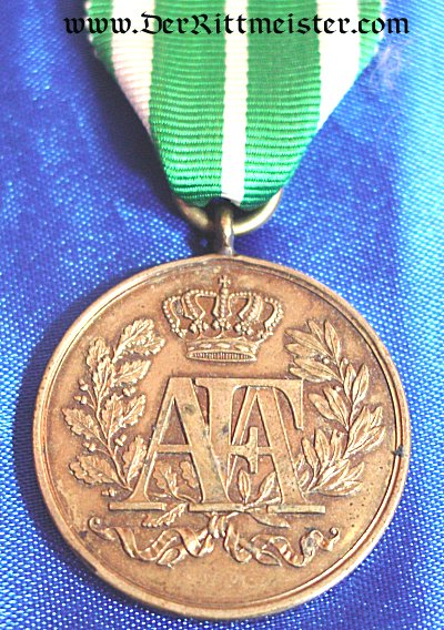 SAXONY - 9 YEARS LONG-SERVICE AWARD - 3rd CLASS - Imperial German Military Antiques Sale