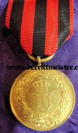 WAR COMMEMORATIVE MEDAL - 1848 SCHLESWIG-HOLSTEIN CAMPAIGN - WÜRTTEMBERG - Imperial German Military Antiques Sale