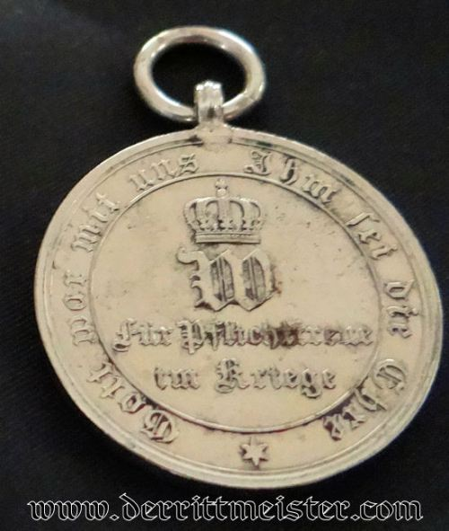 PRUSIA - 1870-1871 FRANCO-PRUSSIAN WAR MEDAL - NON COMBATANTS - Imperial German Military Antiques Sale