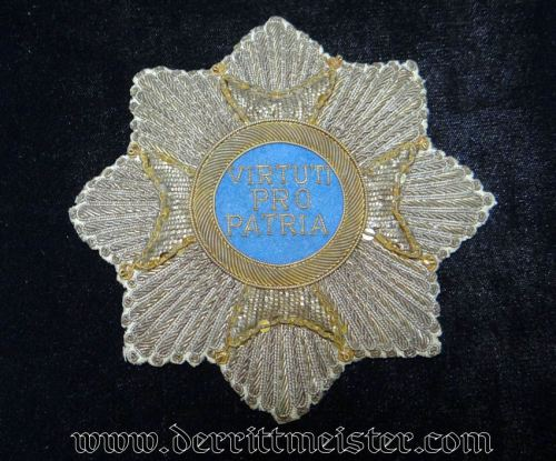 EMBROIDERED GRAND CROSS OF MILITARY MAX JOSEPH BREAST STAR (REPRODUCTION) - BAVARIA - Imperial German Military Antiques Sale