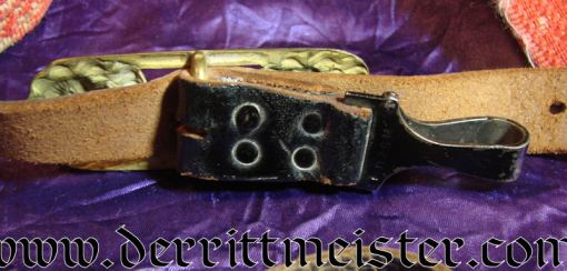 GERMANY - SWORD BELT AND HANGERS - Imperial German Military Antiques Sale
