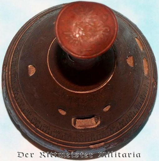 GERMANY - CIGAR CUTTER - FASHIONED FROM ARTILLERY SHELL FUSE - Imperial German Military Antiques Sale