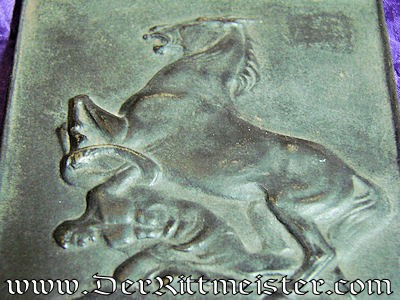 GERMANY - PLAQUE - COMMEMORATING DEUTSCHE LEGION - Imperial German Military Antiques Sale