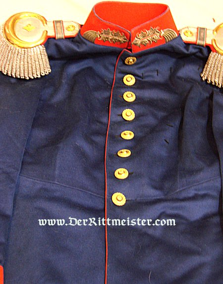 SAXONY - DRESS TUNIC - GENERALLEUTNANT - PRE WORLD WAR I - Imperial German Military Antiques Sale