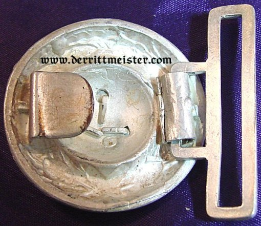 PRUSSIA - BELT BUCKLE - OFFICER - PIONIER/DRAGOON - Imperial German Military Antiques Sale