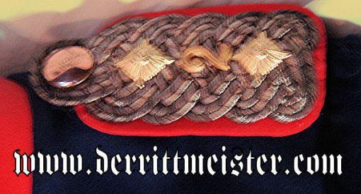 PRUSSIA - ÜBERROCK - OBERST - -REGIMENT von KATZLER (SCHLESISCHES) Nr 2 - Imperial German Military Antiques Sale