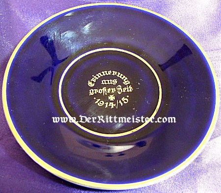 GERMANY - DEMITASSE COFFEE CUP AND SAUCER WITH IRON CROSS MOTIF - Imperial German Military Antiques Sale