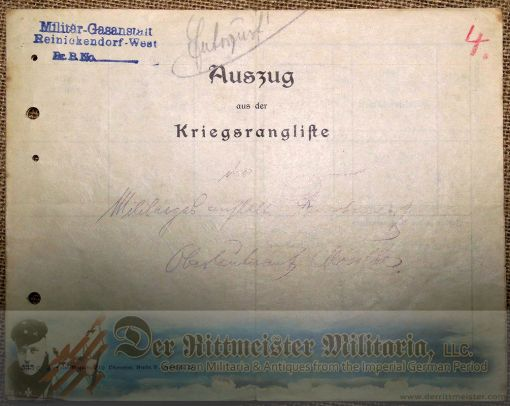 GERMANY - DOCUMENT AND PHOTO GROUP - LUFTSCHIFFER OFFICER - Imperial German Military Antiques Sale