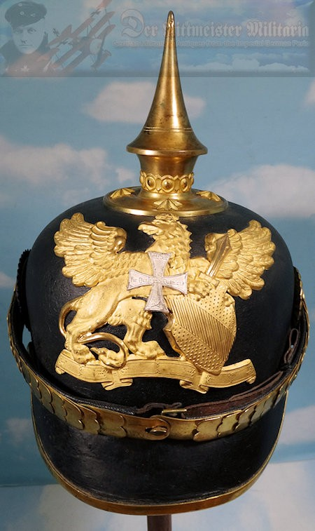 BADEN - PICKELHAUBE - OFFICER - RESERVE INFANTERIE - Imperial German Military Antiques Sale
