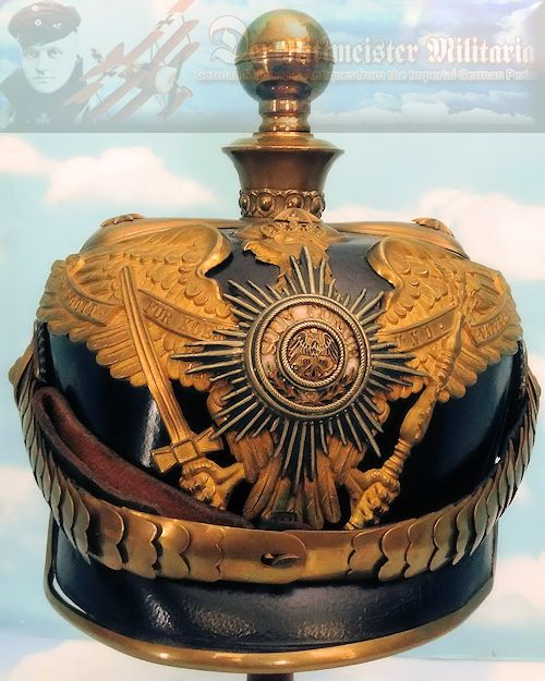 PRUSSIA - KUGELHELM - GENERAL OFFICER'S - Imperial German Military Antiques Sale