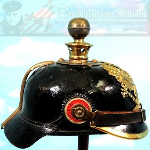 PRUSSIA - KUGELHELM - ENLISTED MAN - FELD-ARTILLERIE-REGIMENT 26 OR FELD-ARTILLERIE-REGIMENT NR 35 - Imperial German Military Antiques Sale