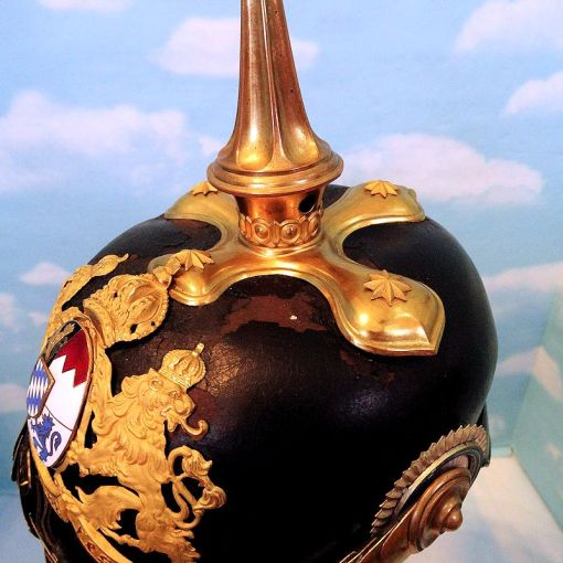 BAVARIA - PICKELHAUBE - GENERAL - ADJUTANT OR WAR MINISTRY - Imperial German Military Antiques Sale