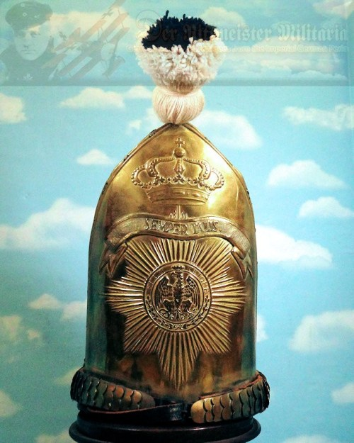 PRUSSIA - MITRE - RUSSIAN-STYLE - ENLISTED MAN - ERSTE GARDE REGIMENT ZU FUß BATAILLON NR I - Imperial German Military Antiques Sale