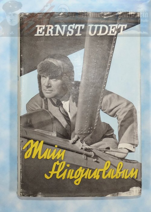 BOOK - ERNST UDET: MEIN FLIEGERLEIBEN.