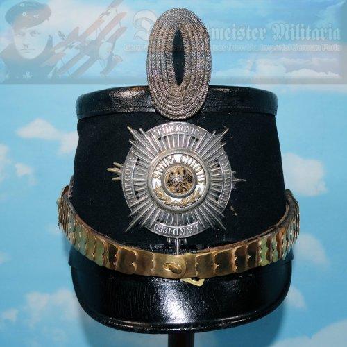 PRUSSIA - TSCHAKO - OFFICER - FLIEGER - LUFTSCHIFFER BATAILLON
