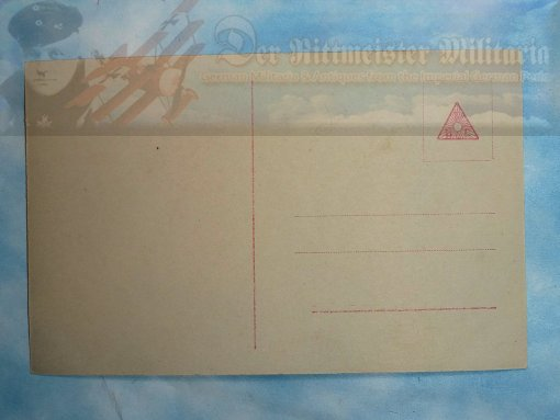 "SANKE CARD NR 361 - OBERLEUTNANT MAX IMMELMANN - ""DEATH CARD."""