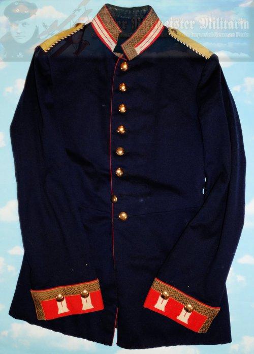 PRUSSIA - TUNIC - ONE-YEAR-VOLUNTEER - 3. GARDE-REGIMENT ZU FUß
