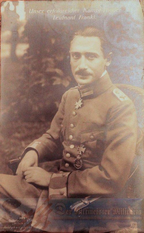 PRUSSIA - SANKE CARD - LEUTNANT WILHELM FRANKL - AVIATION - NR 384