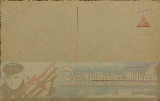PRUSSIA - SANKE CARD - LEUTNANT ALBERT DOSSENBACH - AVIATION - NR 416