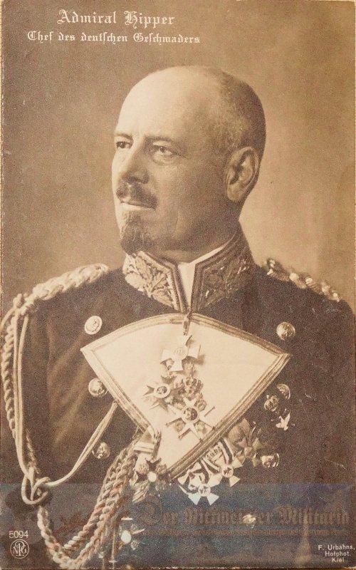 PRUSSIA - POSTCARD - ADMIRAL FRANZ VON HIPPER - NAVY.