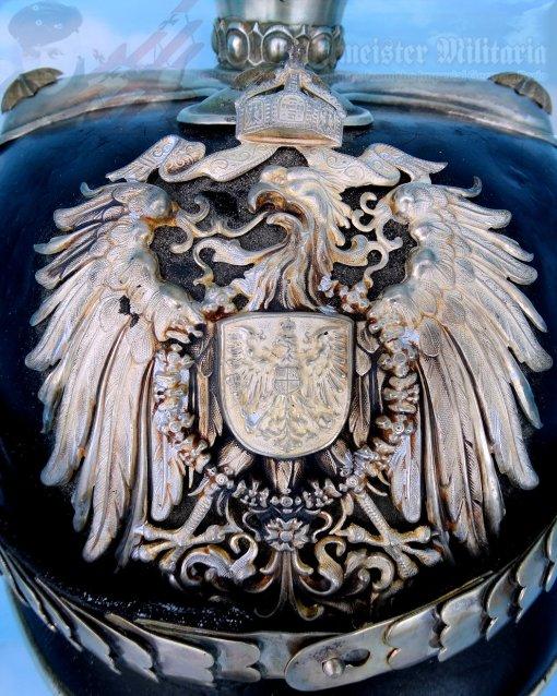 COLONIAL - PICKELHAUBE - GENERAL - BEAMTE - Imperial German Military Antiques Sale